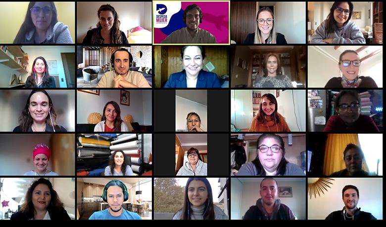 Fundación Luksic da inicio a Despega Mujer, program...