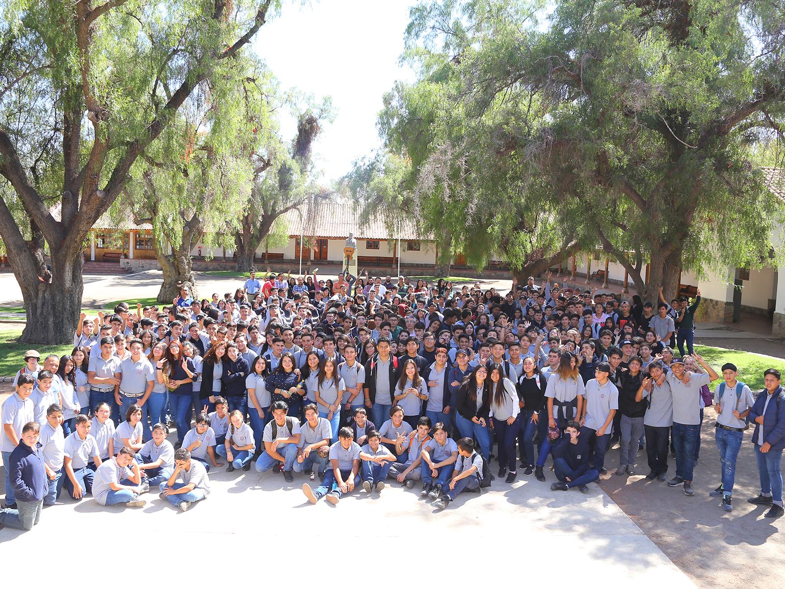 Los estudiantes al centro del quehacer pedagógico